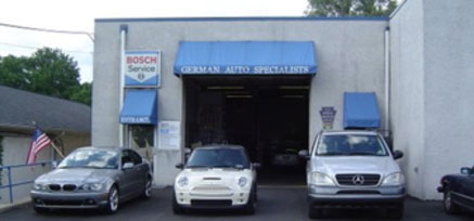 Shop Outside | German Auto Specialists